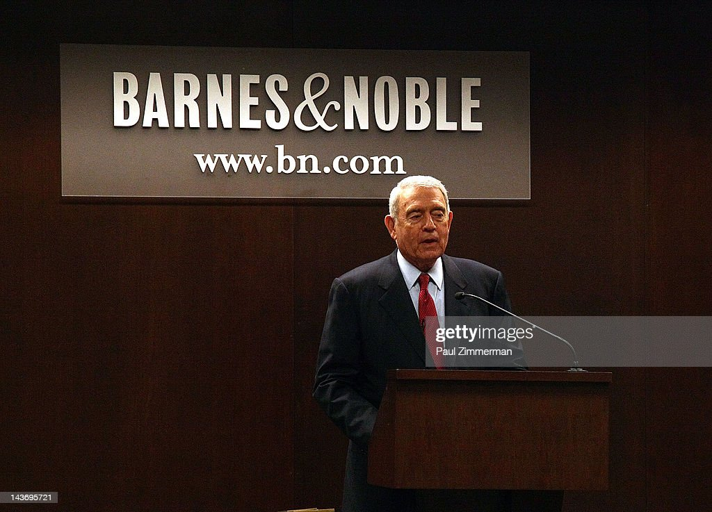 Dan Rather promotes 'Rather Outspoken: My Life In The News' at Barnes & Noble 82nd Street on May 2, 2012 in New York City.