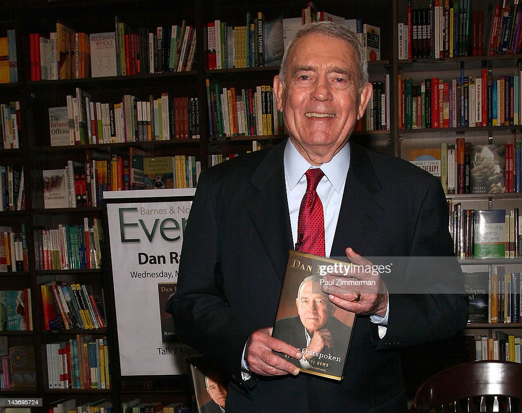 <a gi-track='captionPersonalityLinkClicked' href=/galleries/search?phrase=Dan+Rather&family=editorial&specificpeople=209204 ng-click='$event.stopPropagation()'>Dan Rather</a> promotes 'Rather Outspoken: My Life In The News' at Barnes & Noble 82nd Street on May 2, 2012 in New York City.