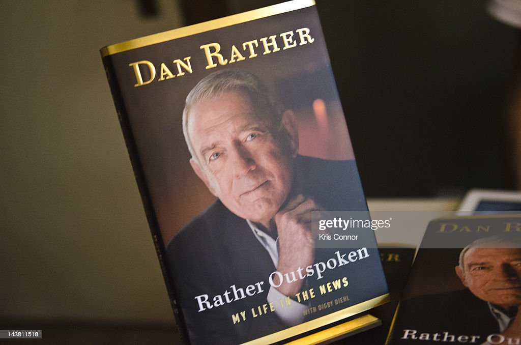 Dan Rather promotes the new book Rather Outspoken: My Life in the News at the Six & I Syngogue sponsored by Politics and Prose Bookstore on May 3, 2012 in Washington, DC.