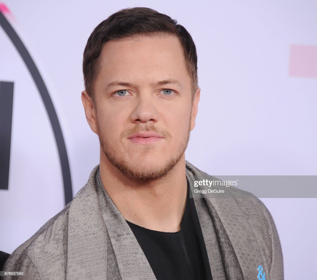 Dan Reynolds arrives at the 2017 American Music Awards at Microsoft Theater on November 19, 2017 in Los Angeles, California.