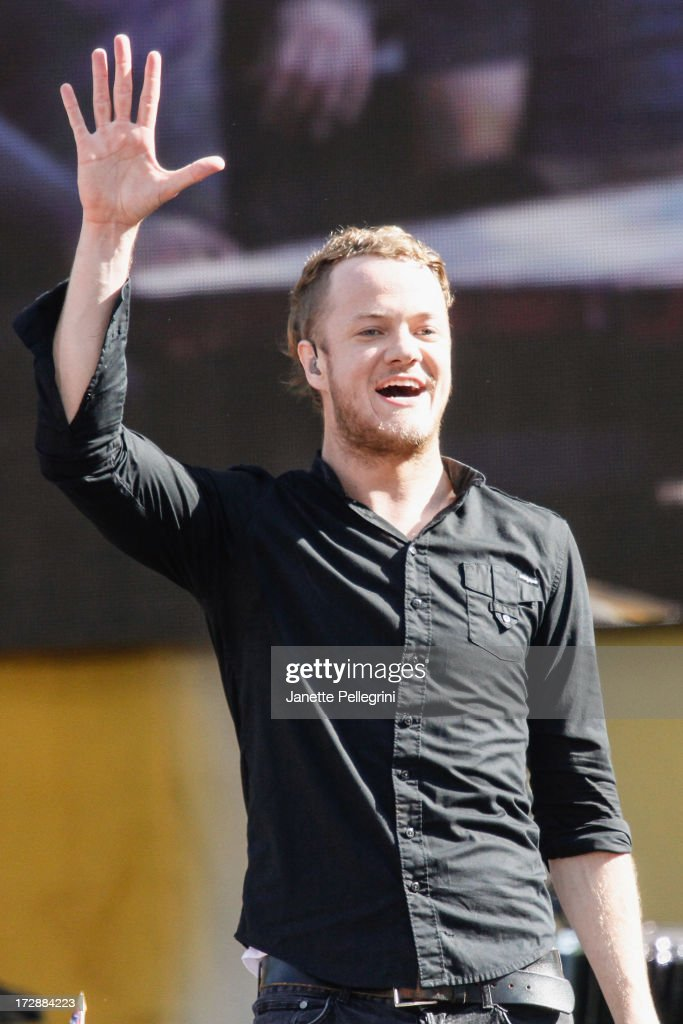 <a gi-track='captionPersonalityLinkClicked' href=/galleries/search?phrase=Dan+Reynolds&family=editorial&specificpeople=8995077 ng-click='$event.stopPropagation()'>Dan Reynolds</a> of <a gi-track='captionPersonalityLinkClicked' href=/galleries/search?phrase=Imagine+Dragons&family=editorial&specificpeople=8995078 ng-click='$event.stopPropagation()'>Imagine Dragons</a> performs at ABC's 'Good Morning America' at Rumsey Playfield, Central Park on July 5, 2013 in New York City.