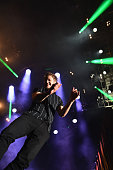 Dan Reynolds of Imagine Dragons performs onstage during the ATT Block Party at the NCAA March Madness Music Festival – Day 1 at White River State...