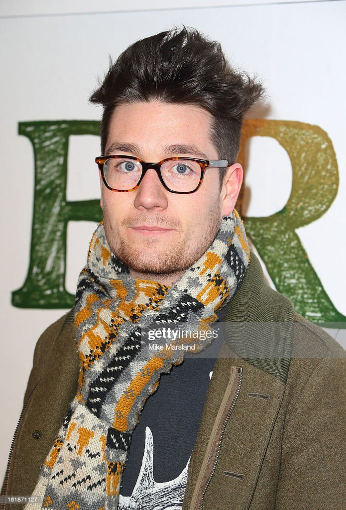 Dan Ritchie attends a special screening of Stoker at Curzon Soho on February 17, 2013 in London, England.