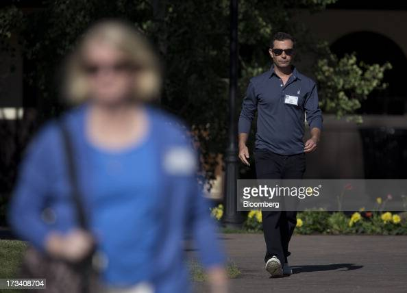 Dan Rose vice president of business development and monetization at Facebook Inc walks to a morning session at the Allen Co Media and Technology...