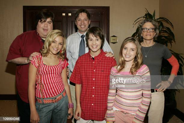 Dan Schneider Jamie Lynn Spears Scott Fellows creator of 'Ned's Declassified School Survival Guide' star Devon Werkheiser Sue Rose creator of...