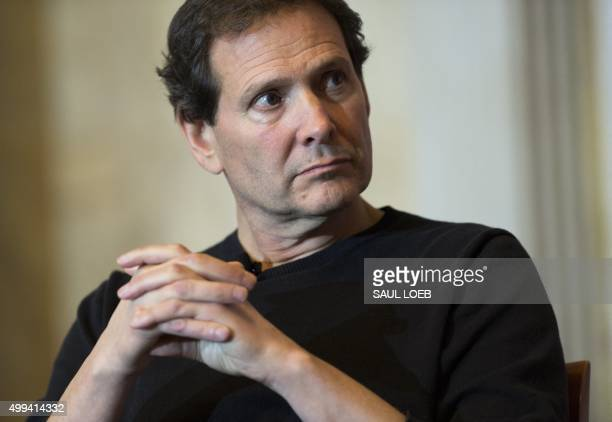 Dan Schulman Chairman and CEO of PayPal participates in the Financial Inclusion Forum at the Treasury Department in Washington DC December 1 2015 AFP...