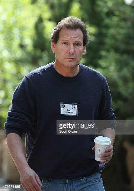 Dan Schulman president of PayPal and chairman of Symantec attends the Allen Company Sun Valley Conference on July 8 2015 in Sun Valley Idaho Many of...