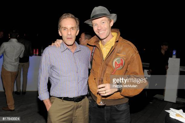 Dan Schwartz and Robin Hill attend ANDRE BALAZS Celebrates 10 Years Of BRUCE WEBER'S All American A Little Bear Press Publication at The Standard...
