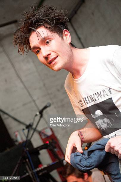 Dan Smith after Bastille performed on stage at Green Door Store during The Great Escape Festival on May 10 2012 in Brighton United Kingdom