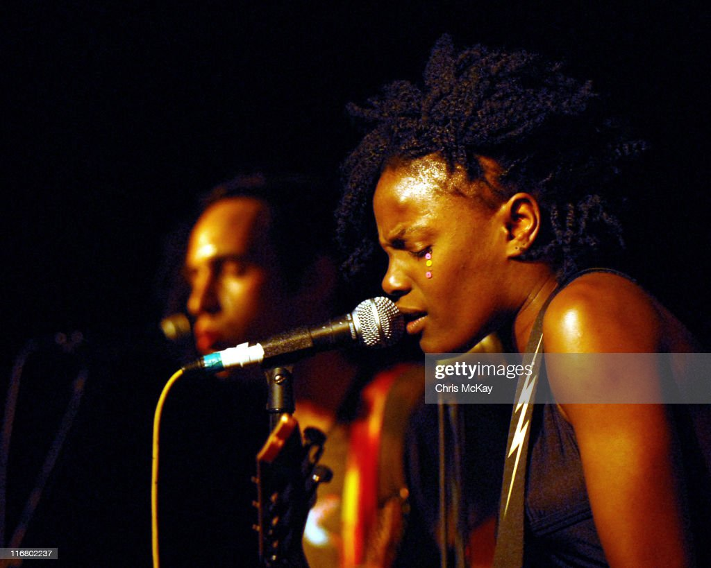 Dan Smith and <a gi-track='captionPersonalityLinkClicked' href=/galleries/search?phrase=Shingai+Shoniwa&family=editorial&specificpeople=4266140 ng-click='$event.stopPropagation()'>Shingai Shoniwa</a> of The <a gi-track='captionPersonalityLinkClicked' href=/galleries/search?phrase=Noisettes&family=editorial&specificpeople=5906750 ng-click='$event.stopPropagation()'>Noisettes</a> **EXCLUSIVE**