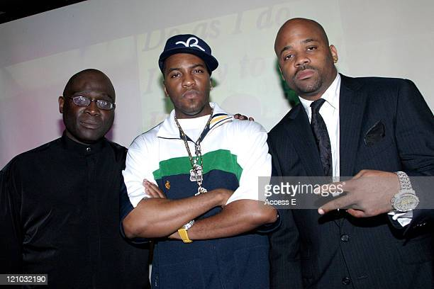 Dan Smith Grafh and Damon Dash during Damon Dash Tokyo Launch of Tiret New York Watches After Party at ALife Club in Tokyo Japan