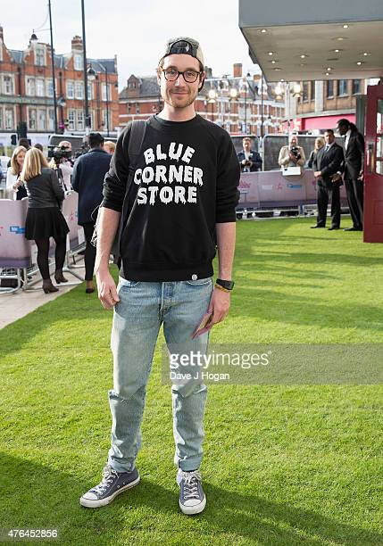 Dan Smith of Bastille attends the Live Premiere of 'London Road' at Ritzy Brixton on June 9 2015 in London England