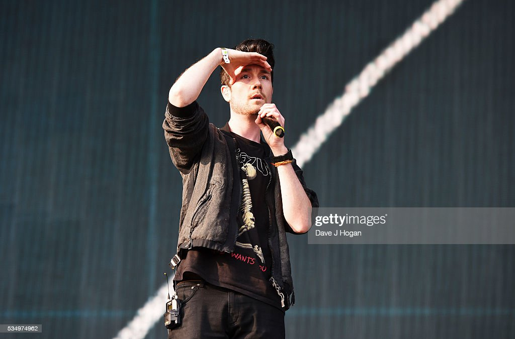<a gi-track='captionPersonalityLinkClicked' href=/galleries/search?phrase=Dan+Smith+-+Musician+-+Bastille&family=editorial&specificpeople=13772993 ng-click='$event.stopPropagation()'>Dan Smith</a> of Bastille performs during day 1 of BBC Radio 1's Big Weekend at Powderham Castle on May 28, 2016 in Exeter, England.
