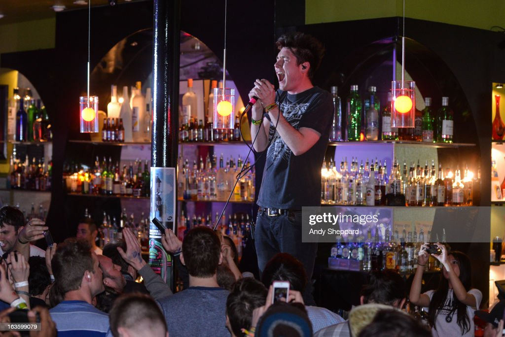Dan Smith of the band Bastille performs on stage during Day 1 of SXSW 2013 Music Festival on March 12, 2013 in Austin, Texas.