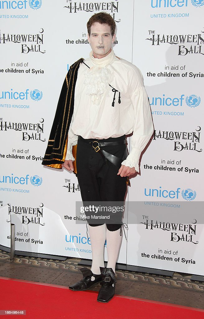 Dan Snow attends The UNICEF Halloween Ball at One Mayfair on October 31, 2013 in London, England.