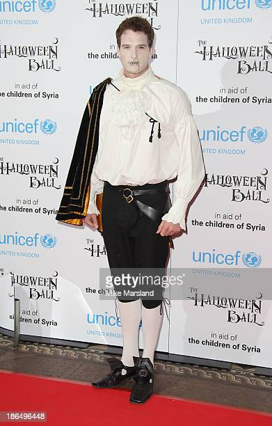 Dan Snow attends The UNICEF Halloween Ball at One Mayfair on October 31 2013 in London England