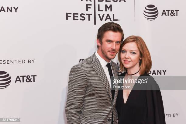 Dan Stevens and Susie Stevens attend 'Permission' Premiere 2017 Tribeca Film Festival at SVA Theatre 2 on April 22 2017 in New York City