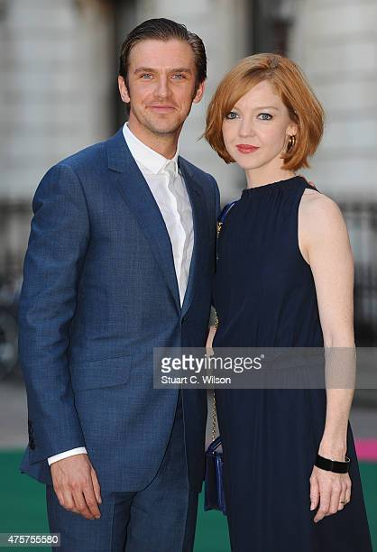 Dan Stevens and Susie Stevens attend the Royal Academy of Arts Summer Exhibition on June 3 2015 in London England