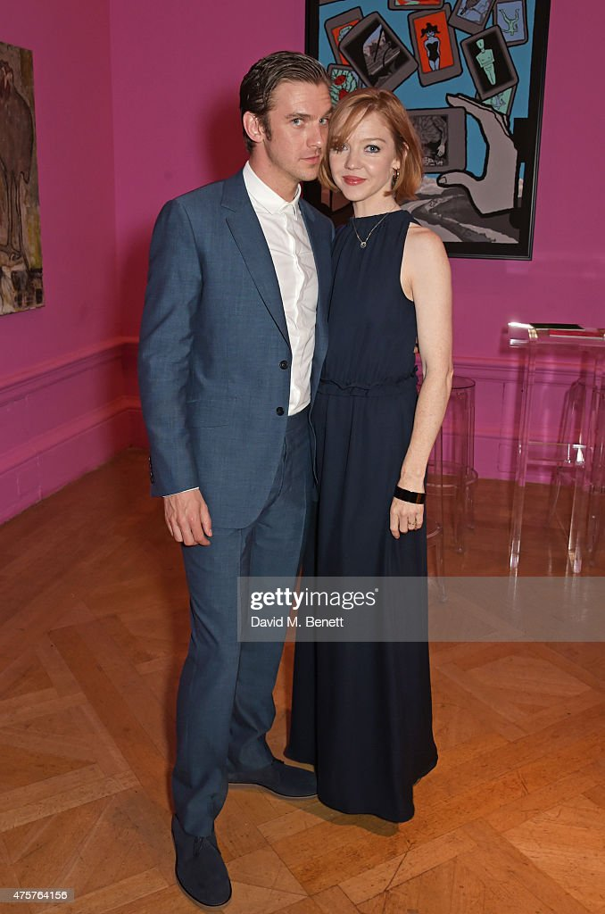 Dan Stevens (L) and Susie Stevens attend the Royal Academy of Arts Summer Exhibition preview party at the Royal Academy of Arts on June 3, 2015 in London, England.
