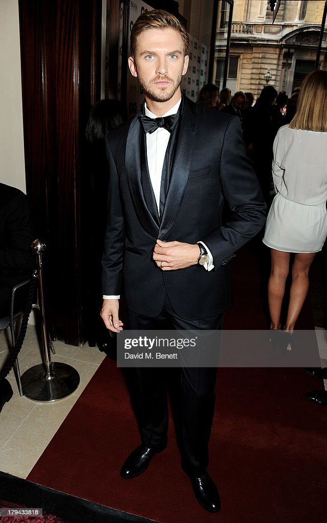 Dan Stevens arrives at the GQ Men of the Year awards at The Royal Opera House on September 3, 2013 in London, England.