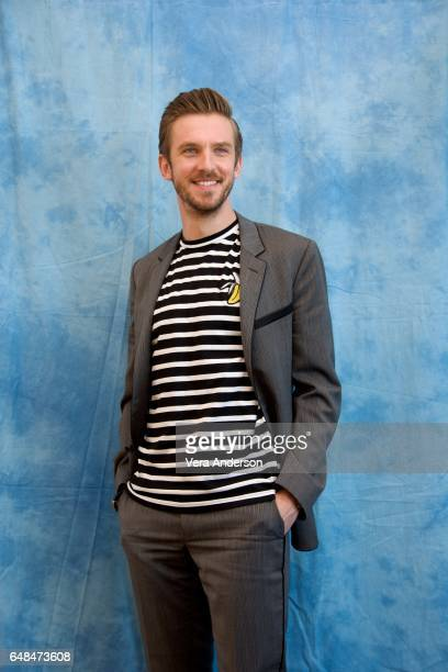 Dan Stevens at the 'Beauty and the Beast' Press Conference at the Montage Hotel on March 5 2017 in Beverly Hills California