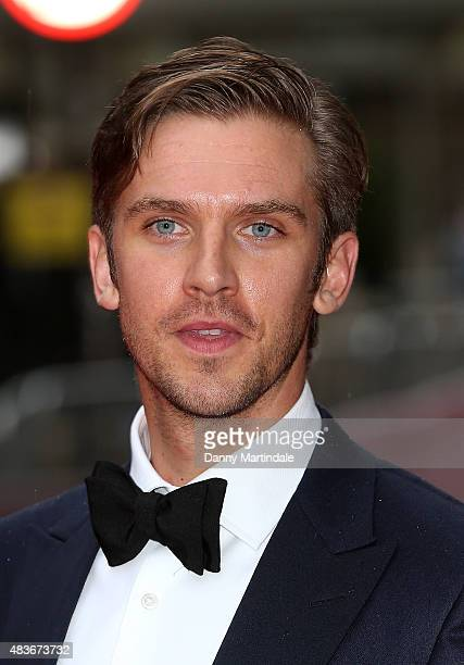 Dan Stevens attends as BAFTA celebrate 'Downton Abbey' at Richmond Theatre on August 11 2015 in Richmond England