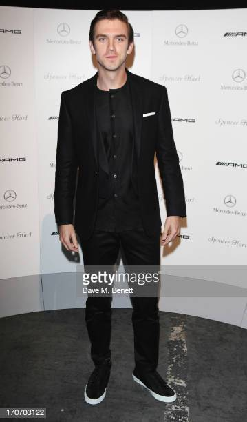 Dan Stevens attends Spencer Hart presents SS14 FUNK in association with MercedesBenz at London Collections Men on June 16 2013 in London England