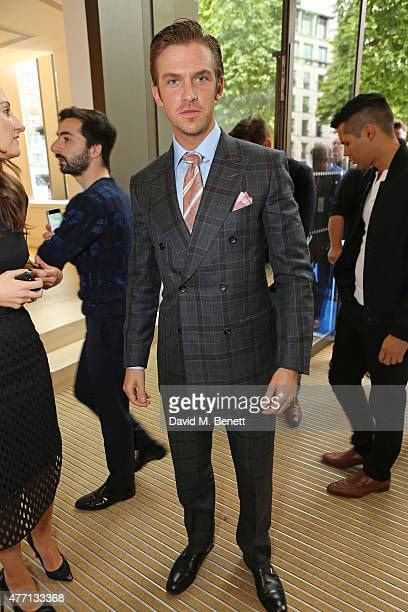 Dan Stevens attends the dunhill and GQ style presentation to celebrate LCM SS16 at Phillips Gallery on June 14 2015 in London England