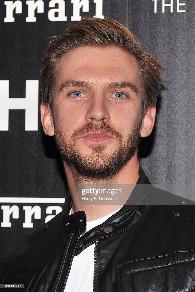 <a gi-track='captionPersonalityLinkClicked' href=/galleries/search?phrase=Dan+Stevens&family=editorial&specificpeople=678756 ng-click='$event.stopPropagation()'>Dan Stevens</a> attends the Ferrari & The Cinema Society screening of 'Rush' at Chelsea Clearview Cinema on September 18, 2013 in New York City.