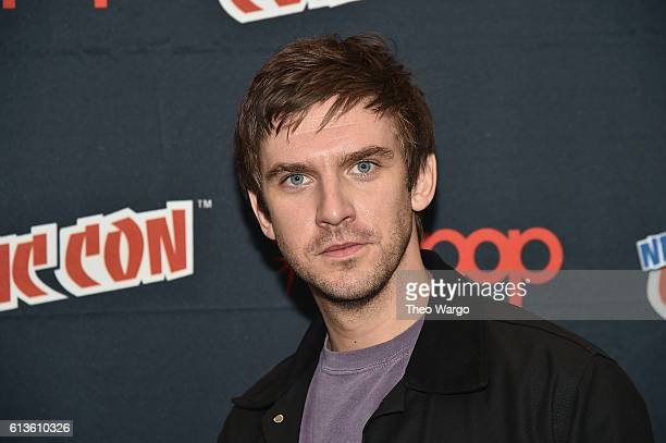 Dan Stevens attends the FX Network's 'Legion' Press Room during 2016 New York Comic Con at The Javits Center on October 9 2016 in New York City