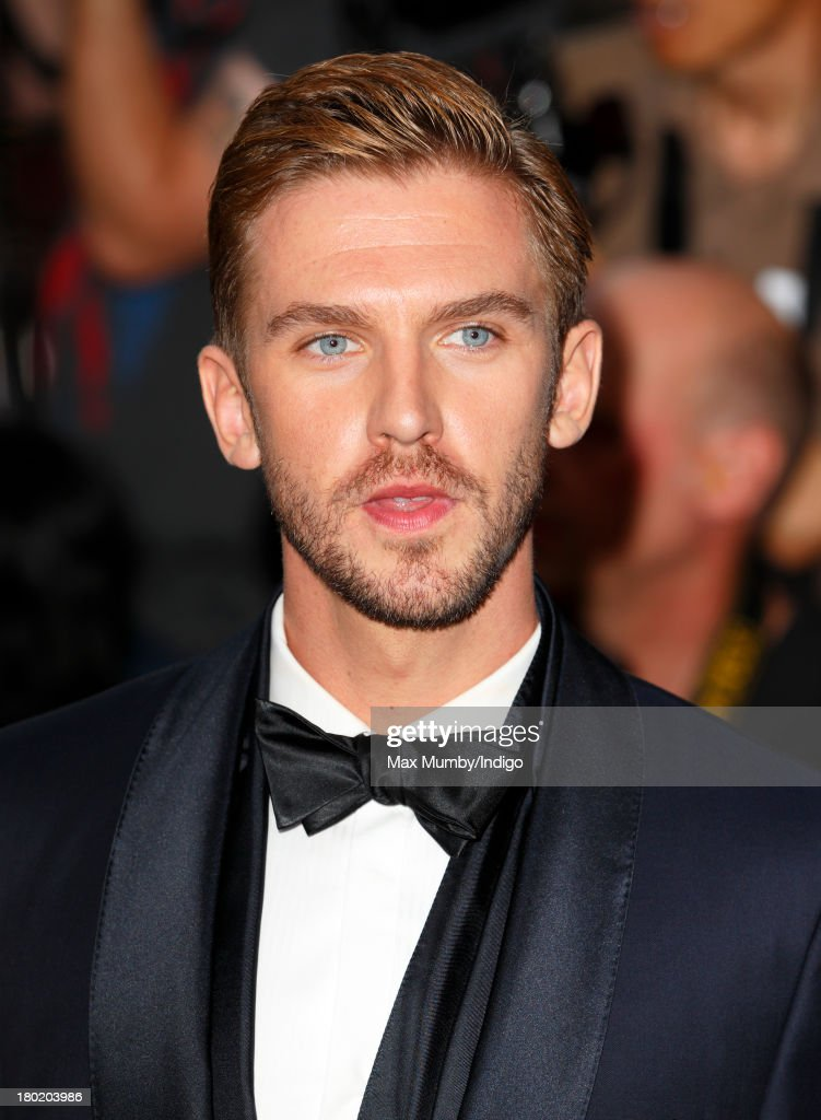 Dan Stevens attends the GQ Men of the Year awards at The Royal Opera House on September 3, 2013 in London, England.
