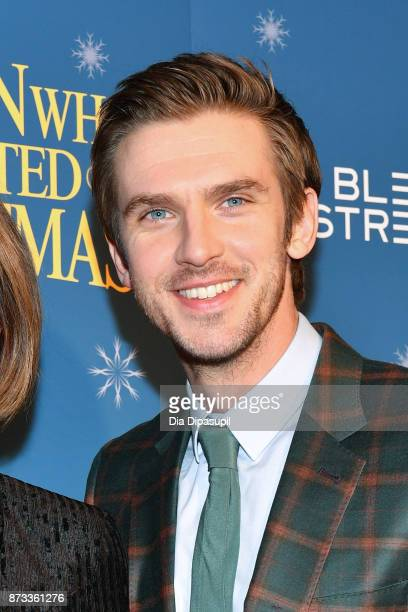 Dan Stevens attends 'The Man Who Invented Christmas' New York screening at Florence Gould Hall on November 12 2017 in New York City