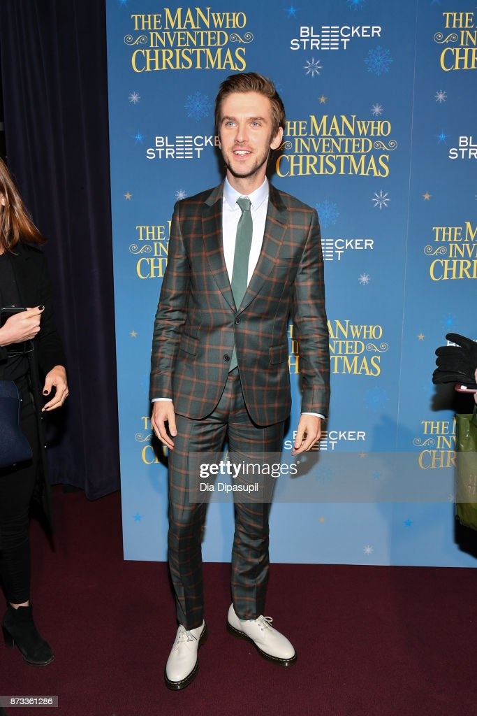 Dan Stevens attends 'The Man Who Invented Christmas' New York screening at Florence Gould Hall on November 12, 2017 in New York City.