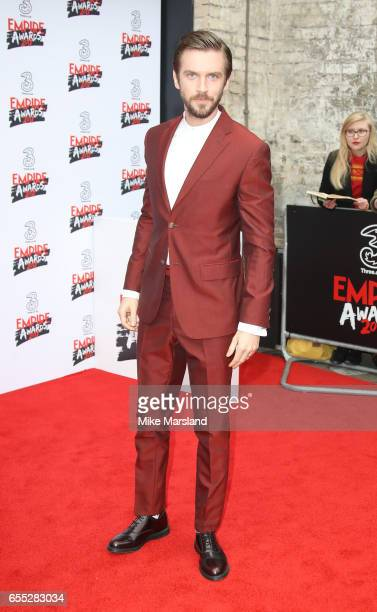 Dan Stevens attends the THREE Empire awards at The Roundhouse on March 19 2017 in London England