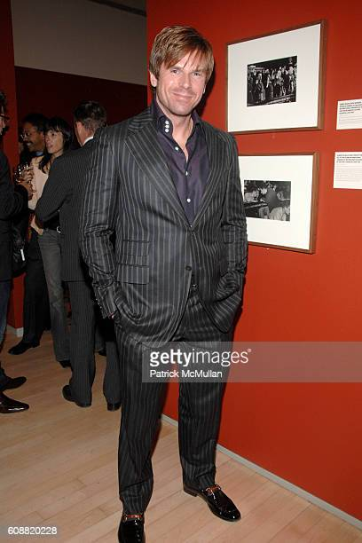 Dan Tyler attends MICHAEL CLINTON @ ICP at Avenue Of The Americas on October 1 2007 in New York City