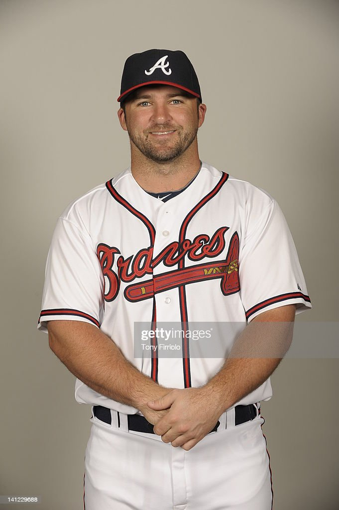 <a gi-track='captionPersonalityLinkClicked' href=/galleries/search?phrase=Dan+Uggla&family=editorial&specificpeople=542208 ng-click='$event.stopPropagation()'>Dan Uggla</a> (26) of the Atlanta Braves poses during Photo Day on Wednesday, February 29, 2012 at Champion Stadium in Lake Buena Vista, Florida.
