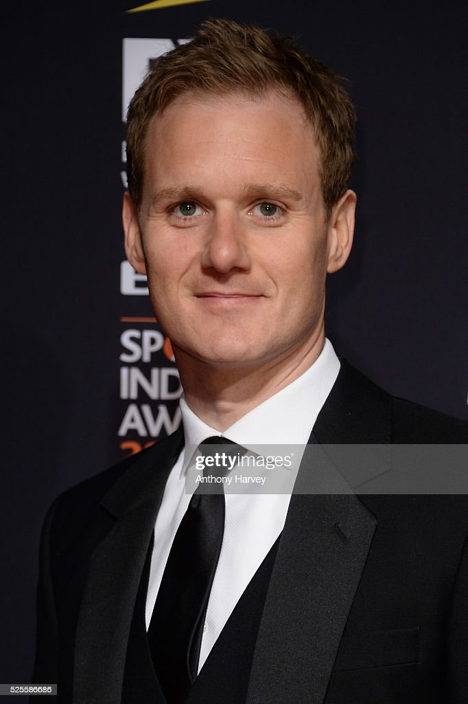 Dan Walker poses on the red carpet at the BT Sport Industry Awards 2016 at Battersea Evolution on April 28, 2016 in London, England. The BT Sport Industry Awards is the most prestigious commercial sports awards ceremony in Europe, where over 1750 of the industry's key decision-makers mix with high profile sporting celebrities for the most important networking occasion in the sport business calendar.