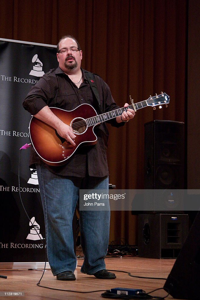 Dan Warner performs during the Florida Chapter GRAMMY Career Day at Frost School of Music at University of Miami Gusman Concert Hall on May 19, 2010 in Coral Gables, Florida.