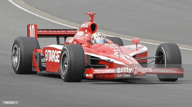 Dan Wheldon during race action at Bridgestone Indy Japan at Twin Ring Motegi on April 21 2007