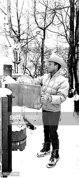 1/1984 Dan Williams an Eagle County commissioner has a cloud seeding generator in his hack yard When Western weather call him to say the winds are...