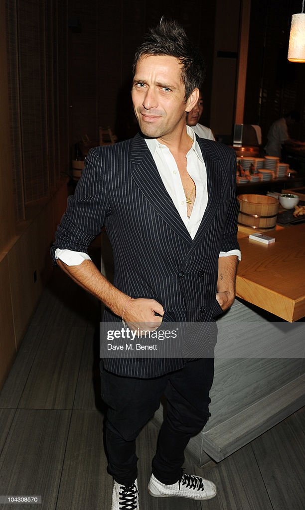 Dan Williams attends private dinner hosted by AnOther Magazine to celebrate the latest cover star Bjork at Sake No Hana on September 20, 2010 in London, England.