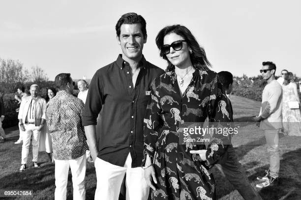 Dan Wright and Bethenny Frankel attend The 17th Annual Midsummer Night Drinks Benefiting God's Love We Deliver at Private Residence on June 10 2017...