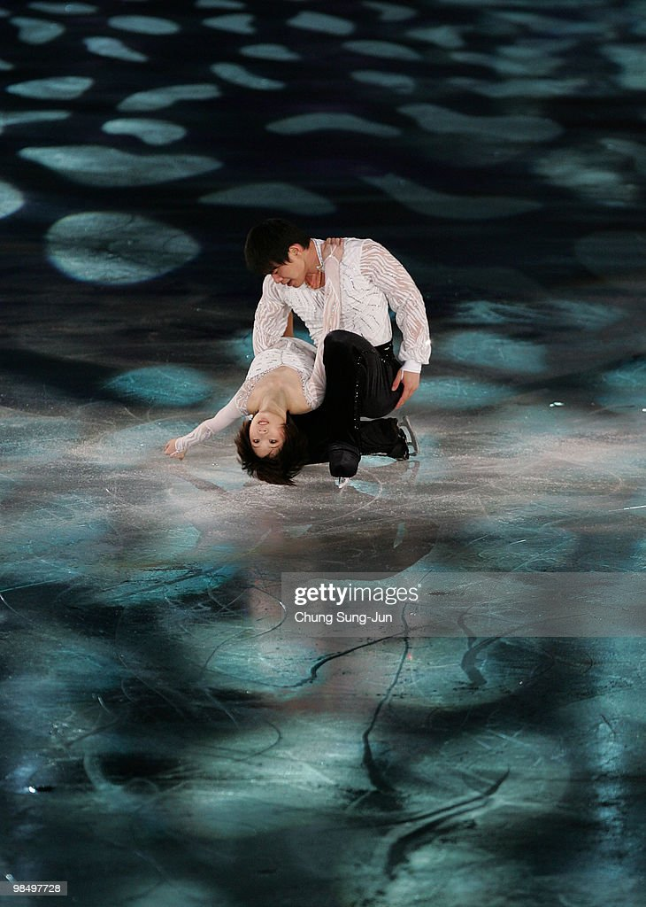 Dan Zhang and Hao Zhang of China perform during Festa on Ice 2010 at Olympic gymnasium on April 16, 2010 in Seoul, South Korea.