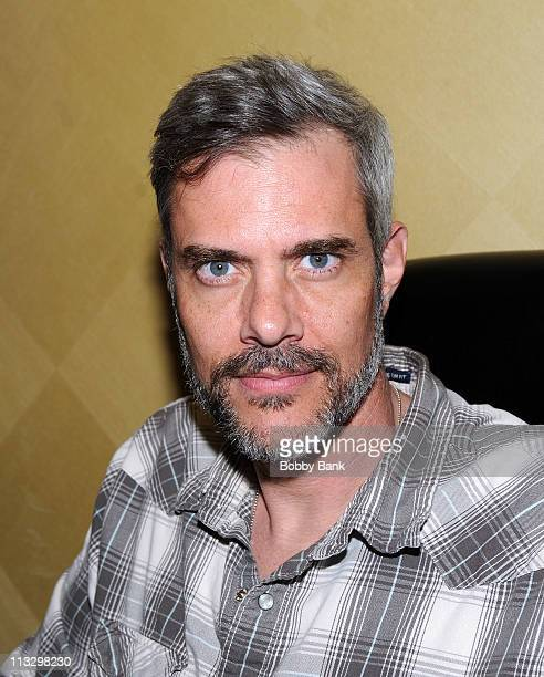 Dana Ashbrook attends the Chiller Theatre 2011 Spring Expo at Hilton Parsippany on April 30 2011 in Parsippany New Jersey