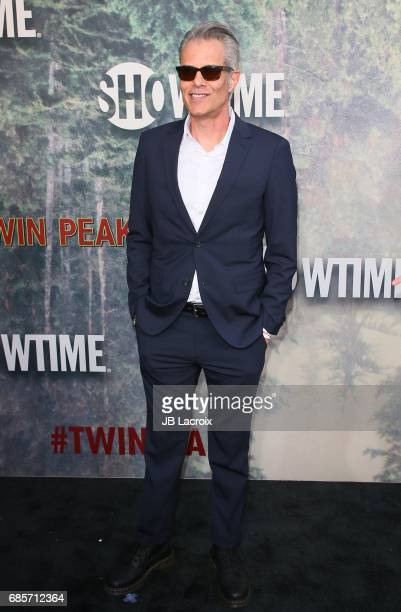 Dana Ashbrook attends the premiere of Showtime's 'Twin Peaks' at The Theatre at Ace Hotel on May 19 2017 in Los Angeles California