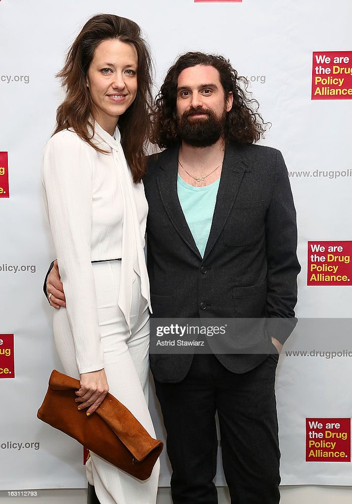 Dana Balicki and Ryan Schnieder attend the 2013 re:FORM Art Benefit at C24 Gallery on March 4, 2013 in New York City.