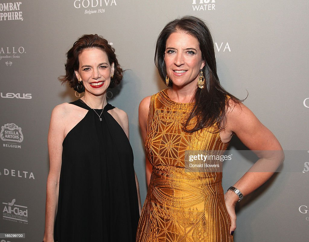 Dana Cowin and Christina Grdovic attend The FOOD & WINE 2013 Best New Chefs Party at Pranna Restaurant on April 5, 2013 in New York City.