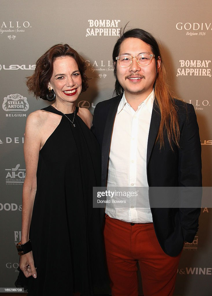 Dana Cowin and Danny Bowen attend The FOOD & WINE 2013 Best New Chefs Party at Pranna Restaurant on April 5, 2013 in New York City.