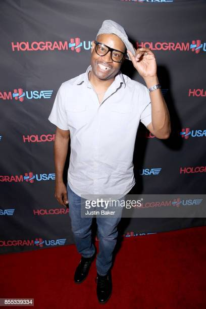 Dana Dane attends Hologram USA's Gala Preview at Hologram USA Theater on September 28 2017 in Los Angeles California
