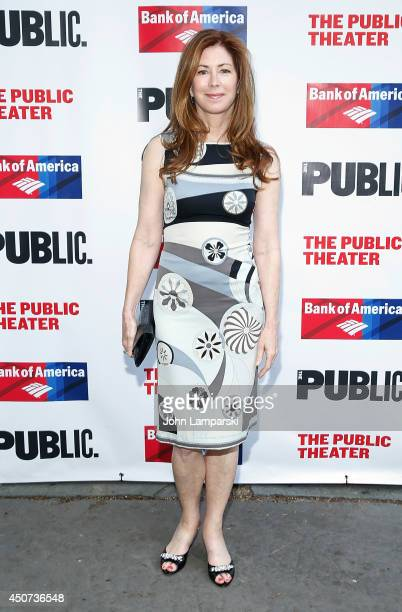 Dana Delaney attends The Public Theater's Opening Night Of 'Much Ado About Nothing' at Delacorte Theater on June 16 2014 in New York City